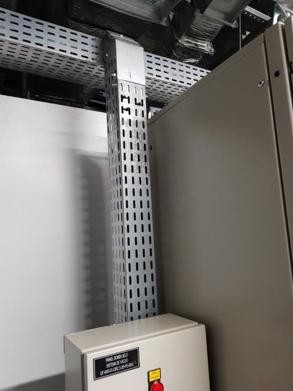 Montagem de Eletrocalhas Perfuradas para Construtoras Cabreúva - Montagem de Eletrocalha em Pvc