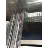 montagem de eletrocalha perfurada para construtoras valor Campinas