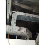 montagem de eletrocalha perfurada para construtoras Valinhos