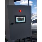 montagem de painel elétrico de controle