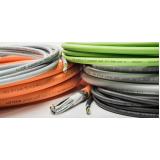 passagem de cabos elétricos Vinhedo
