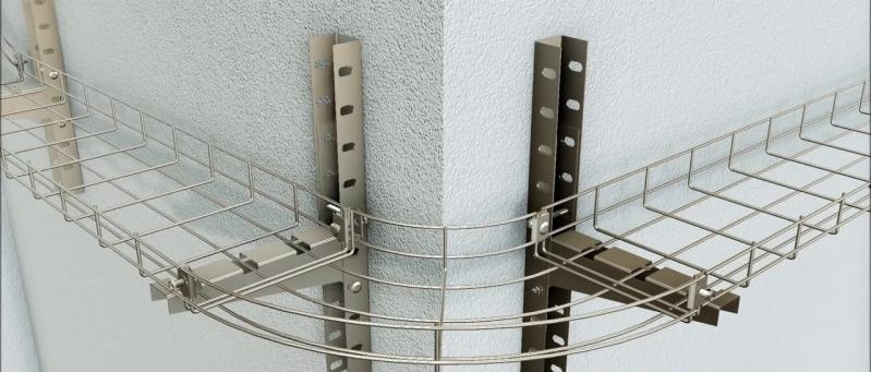 Montagem de Eletrocalhas Plástica para Construção Cabreúva - Montagem de Eletrocalha Perfurada