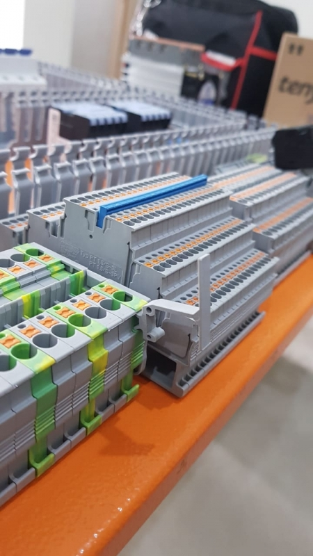 Montagem de Painel de Monitoramento Ambiental Mais Barato Sumaré - Montagem de Painel de Controles Automáticos