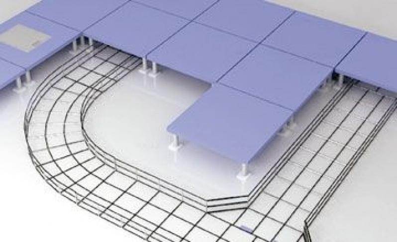 Preço de Montagem de Eletrocalha para Construção Vinhedo - Montagem de Eletrocalha Alumínio para Construção