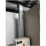 montagem de eletrocalha perfurada para construtoras