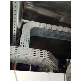 montagem de eletrocalha perfurada para construtoras Sumaré