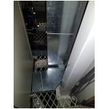 montagem de eletrocalhas alumínio para construção Itu