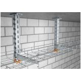 montagem de eletrocalhas para construção Campinas
