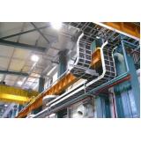 passagem de cabos de redes industriais Indaiatuba