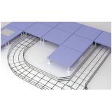 valor de montagem de eletrocalha para construção civil Valinhos